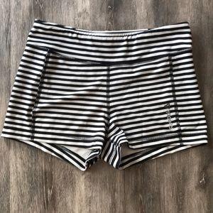 Size M Reebok stripe shorts